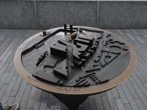 Table d'orientation de Londres