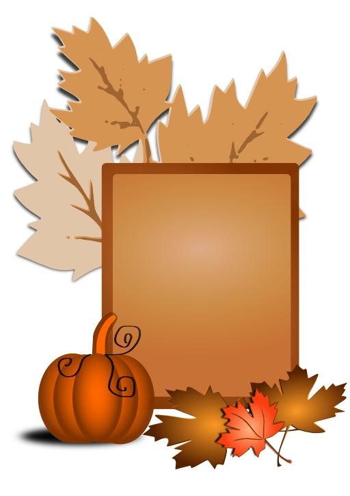 Tableau d'automne stylisé