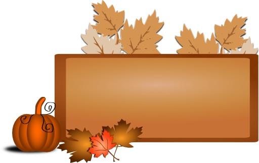 Tableau stylisé d'automne