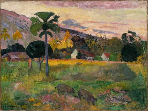 Tahiti par Gauguin