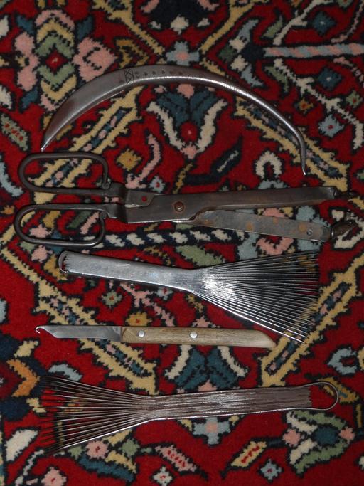 Tapis et outils de tissage