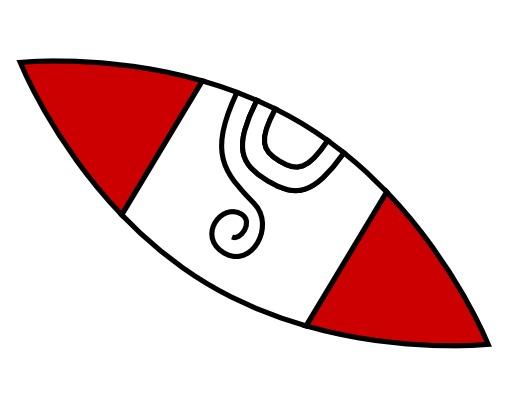 Tecpatl, le silex du calendrier aztèque