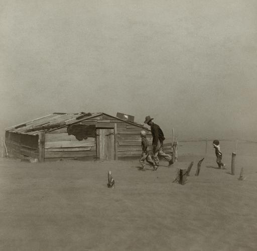 Tempête de sable en Oklahoma