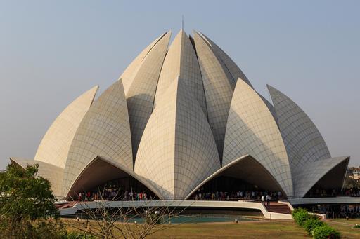 Temple du Lotus à New Delhi