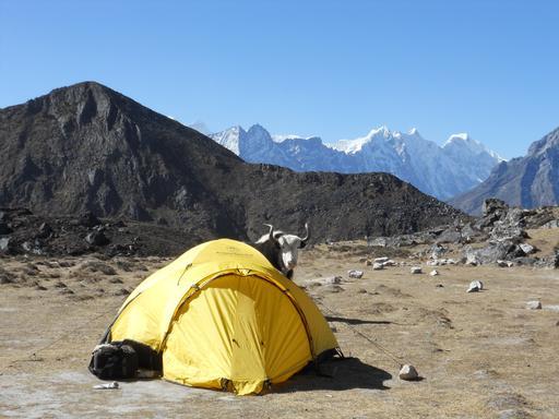 Tente au Népal