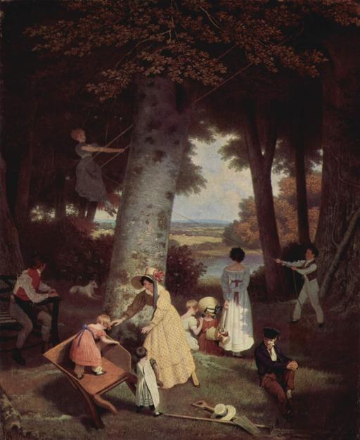 Terrain de jeux au XIXème siècle