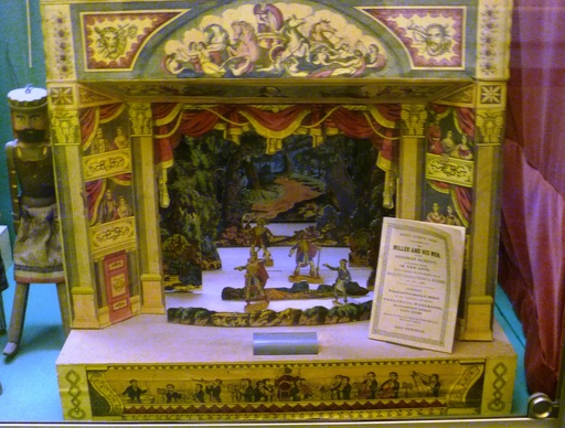 Théâtre en papier victorien
