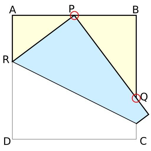 Théorème de Haga et origami