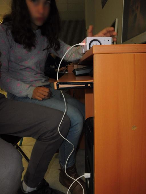 Thymio au collège Calandreta