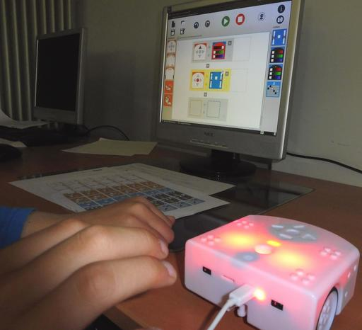 Thymio et le logiciel Aseba au collège Calandreta