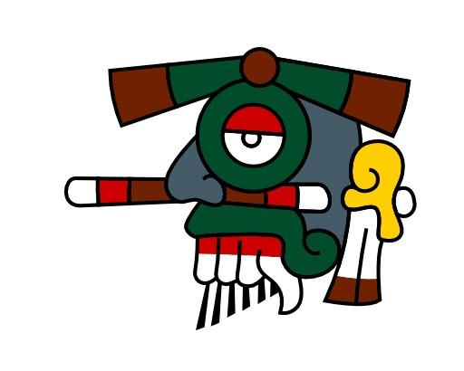 Tlaloc, la pluie du calendrier aztèque