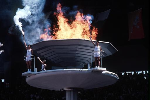 Torche olympique de Séoul
