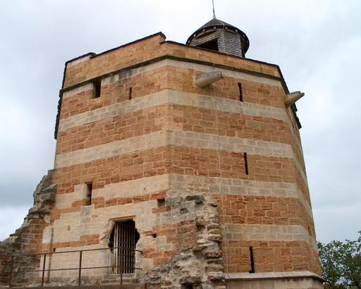 Tour octogonale du château de Trevoux