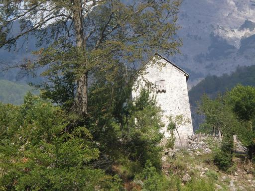 Tour-refuge en Albanie