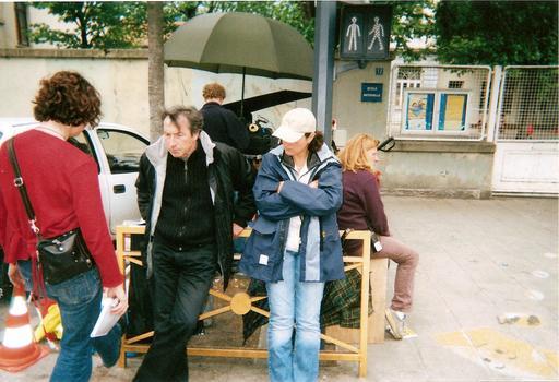 Tournage de La Petite Chartreuse par Jean-Pierre Denis en 2004