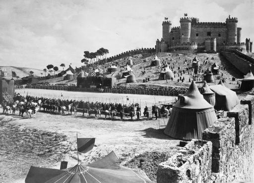 Tournage du Cid