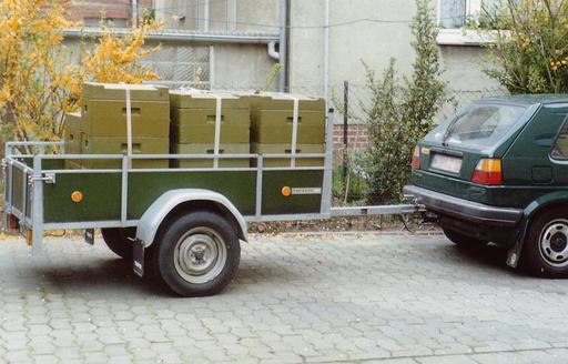 Transfert de ruches