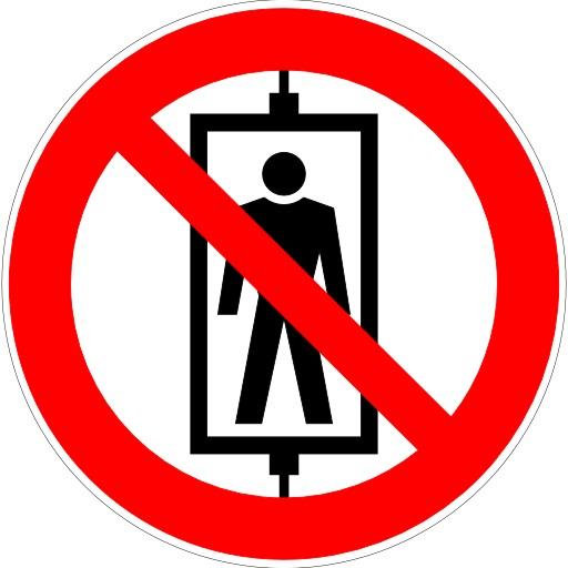 Transport de personne interdit