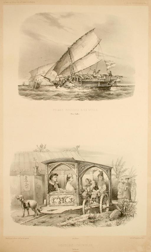 Transports dans les Moluques en 1838