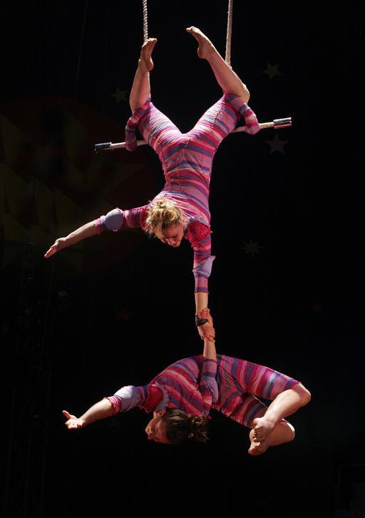 Trapèze de cirque
