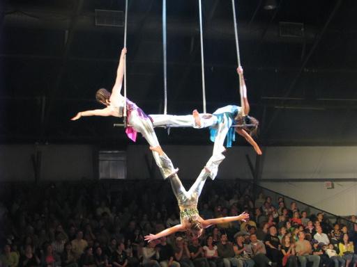 Trapèzes de cirque