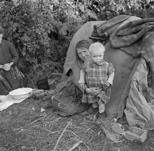 Travellers irlandais en 1946
