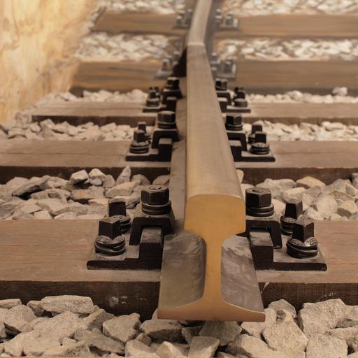 Traverses de chemin de fer en bois