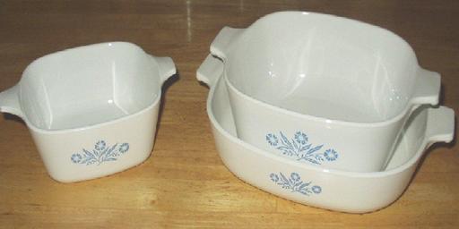 Trois plats creux