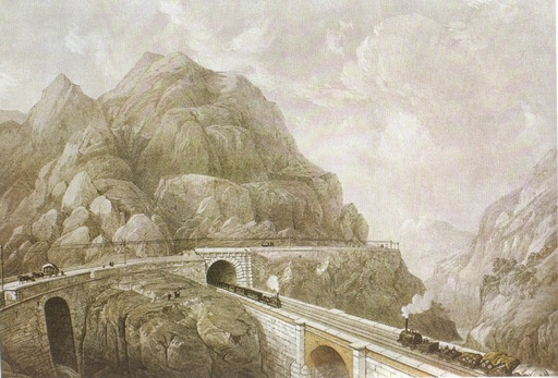 Tunnel en Italie