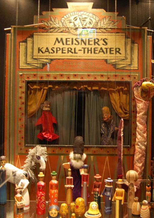 Un ancien théâtre de Kasperle
