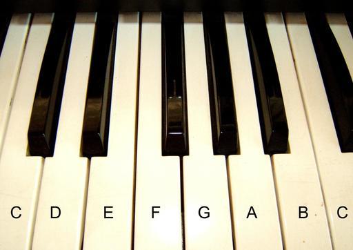 Un octave au piano