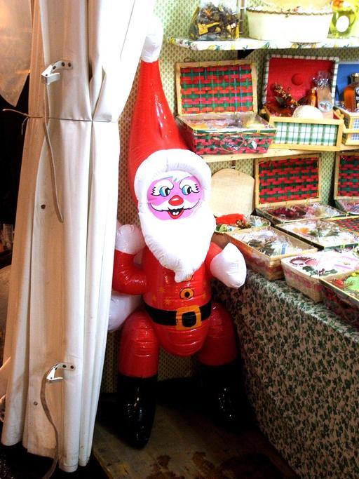 Un Père Noël à Genève