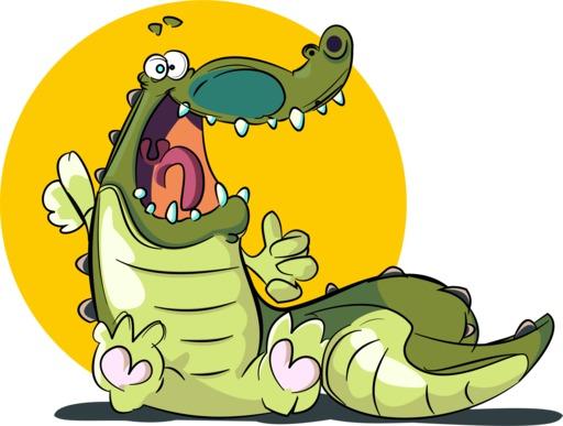 Un rire de crocodile