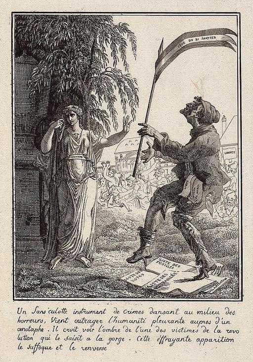 Un sans-culotte à la mort de Louis XVI