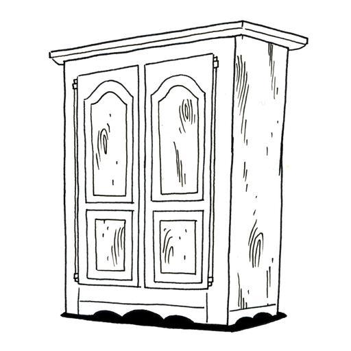 Une armoire