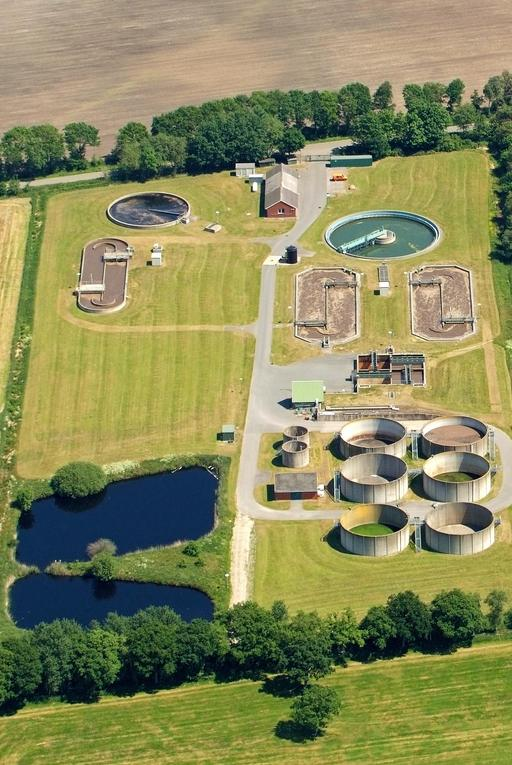 Usine d'épuration des eaux usées