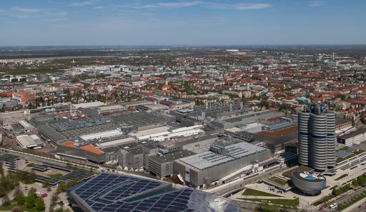 Usine de BMW à Múnich