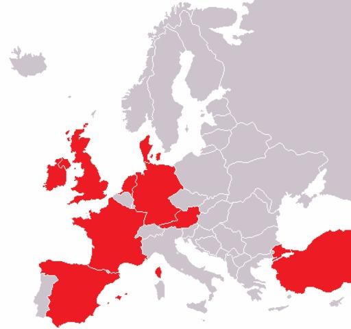 Usines Haribo en Europe