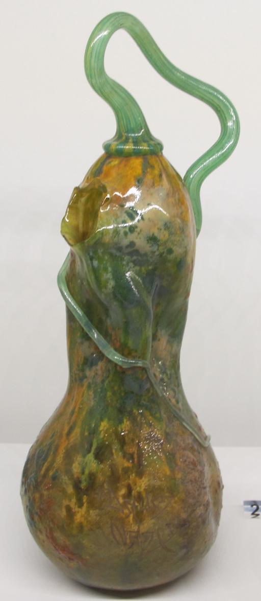 Vase coloquinte de Daum