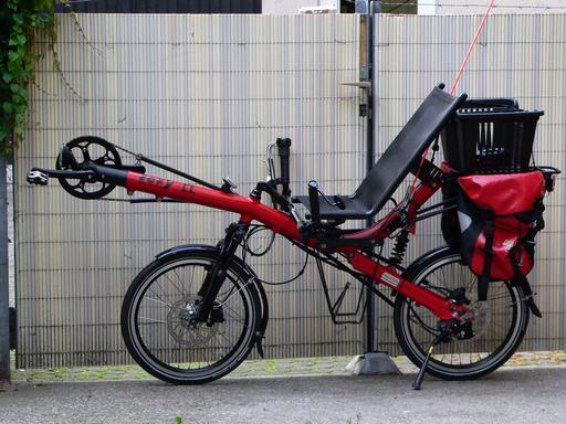 Vélo couché de randonnée