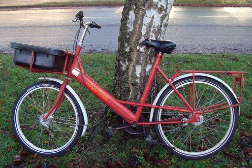 Vélo de postier anglais