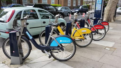 Vélos publics à Londres