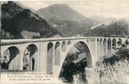 Viaduc ferroviaire de la Roizonne