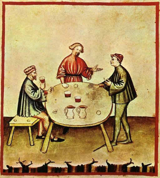 Vie quotidienne au Moyen Age : l'ivresse