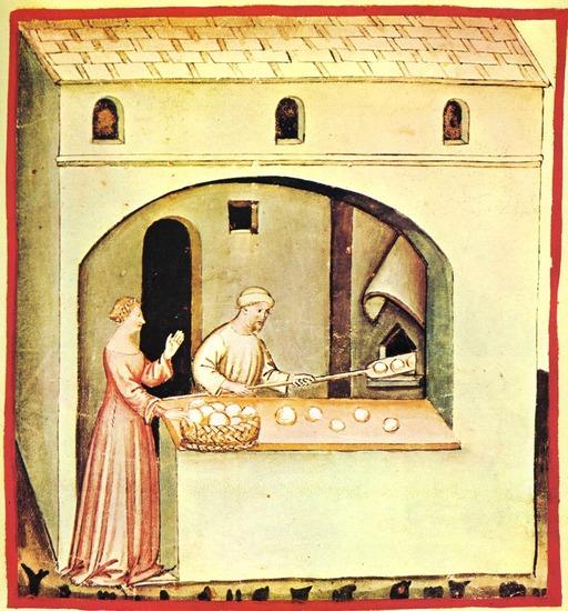 Vie quotidienne au Moyen Age : la boulangerie