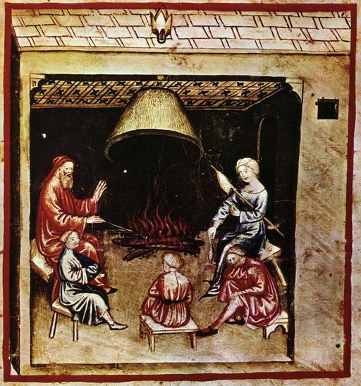 Vie quotidienne au Moyen Age : la veillée
