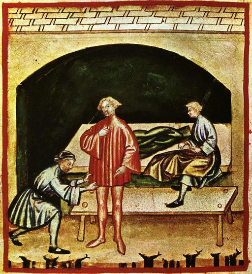 Vie quotidienne au Moyen Age : vêtements de laine