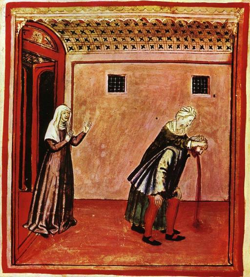 Vie quotidienne au Moyen Age : vomissements