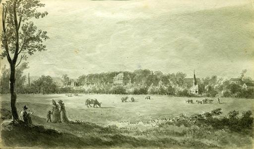 Village de Hautot en 1806