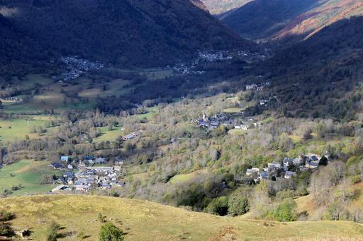 Villages dans la vallée d'Aure